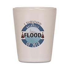 Nashville Flood of 2010 Shot Glass