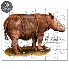 Sumatran Rhinoceros Puzzle