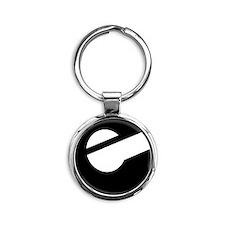 e Round Keychain