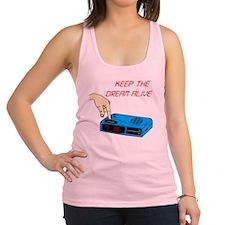 2-KeepTheDreamAlive_color Racerback Tank Top