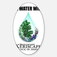Be water wise Decal