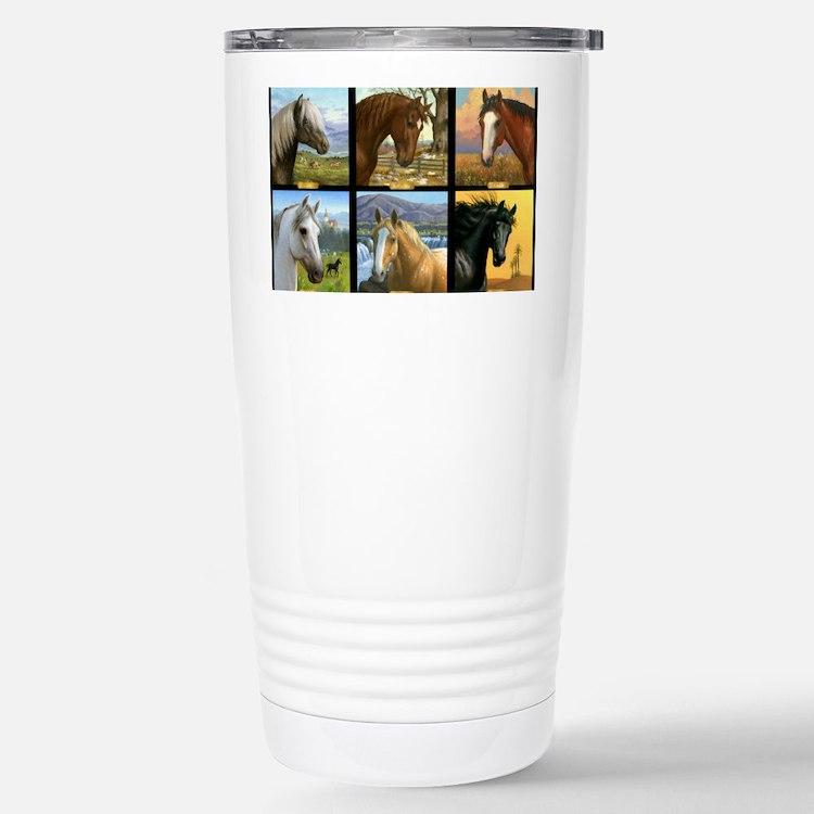 HORSE DIARIES POSTER Travel Mug