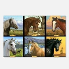HORSE DIARIES POSTER Postcards (Package of 8)