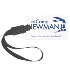 Camp-Newman_with-tagline Luggage Tag