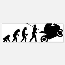 2-Bike Racer Bumper Bumper Sticker