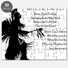 WITCHI TAI TO black Puzzle