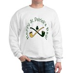 St. Patrick's Day Pipes Sweatshirt