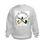 St. Patrick's Day Pipes Kids Sweatshirt