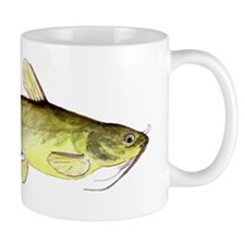 Watercolor Channel Cat Mug