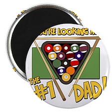 pool-number-one-dad Magnet