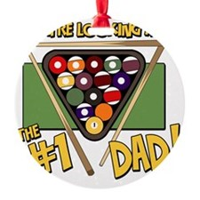pool-number-one-dad Ornament