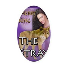 The Stray Mouse Pad Oval Car Magnet