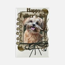 French_Quarters_ShihPoo_Maggie Rectangle Magnet