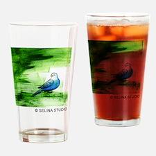 3-5x5 bird 3 Drinking Glass