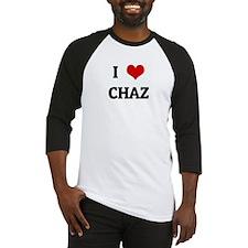 I Love CHAZ Baseball Jersey