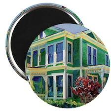 Burton House Mansion San Diego By Riccoboni Magnet