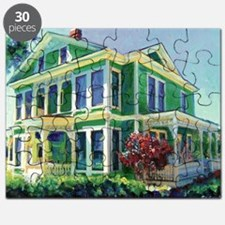 Burton House Mansion San Diego By Riccoboni Puzzle