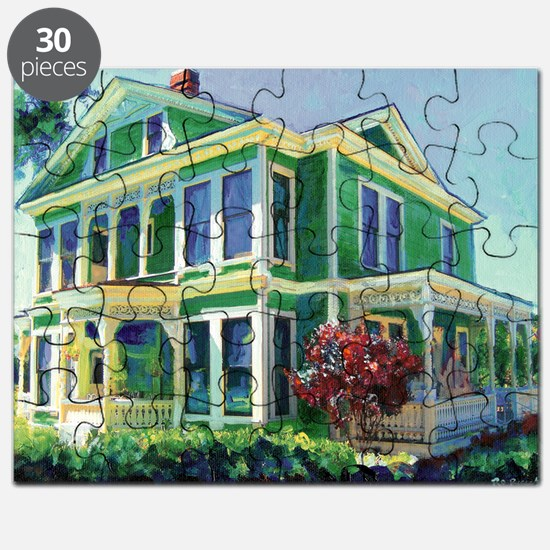 Burton House Mansion San Diego By Riccoboni Puzzle