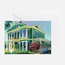 burton house by RD Riccoboni Greeting Card