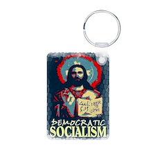Jesus dem soc LG Gal 513 s Aluminum Photo Keychain