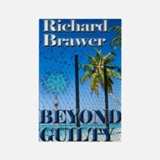 Beyond Guilty Notecard Rectangle Magnet