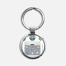 FSA_Tilev2 Round Keychain