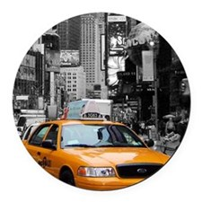 smallposter Round Car Magnet