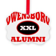 Owensboro XXL Alumni red Ornament