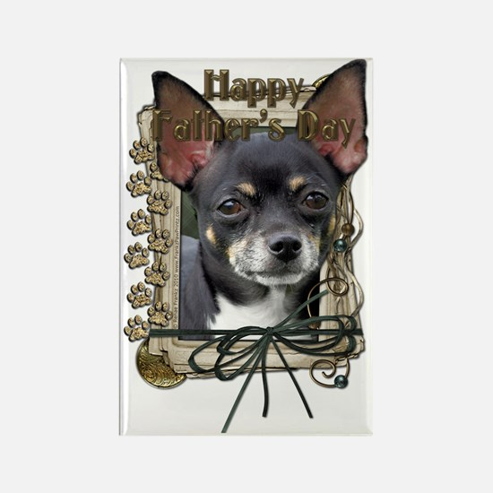 French_Quarters_Chihuahua_Isabell Rectangle Magnet