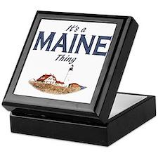 Its a Maine Thing Lighthouse Keepsake Box