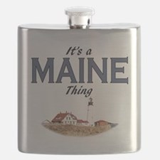 Its a Maine Thing Lighthouse Flask