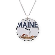 Its a Maine Thing Lighthouse Necklace