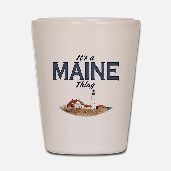 Its a Maine Thing Lighthouse Shot Glass
