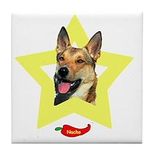 Nacho with Star2 Tile Coaster