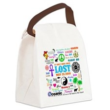 Loves Lost Canvas Lunch Bag