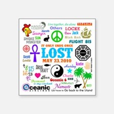 "Loves Lost Square Sticker 3"" x 3"""