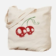 cherryskulls2 Tote Bag