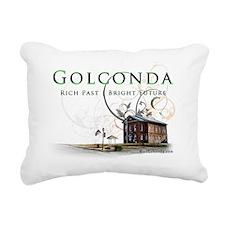 courthouse Rectangular Canvas Pillow