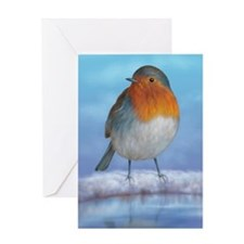 Cute Birdbath Greeting Card