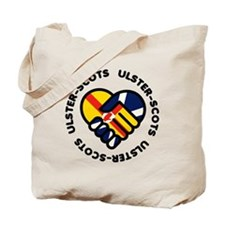 ulster scots hands Tote Bag