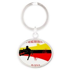 Germany copy Oval Keychain