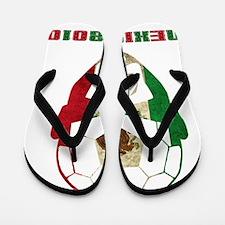Soccer2010 -Mexico 1cl Flip Flops
