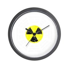Radioactive dk Wall Clock