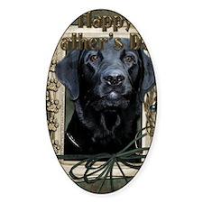 French_Quarters_Black_Labrador Decal