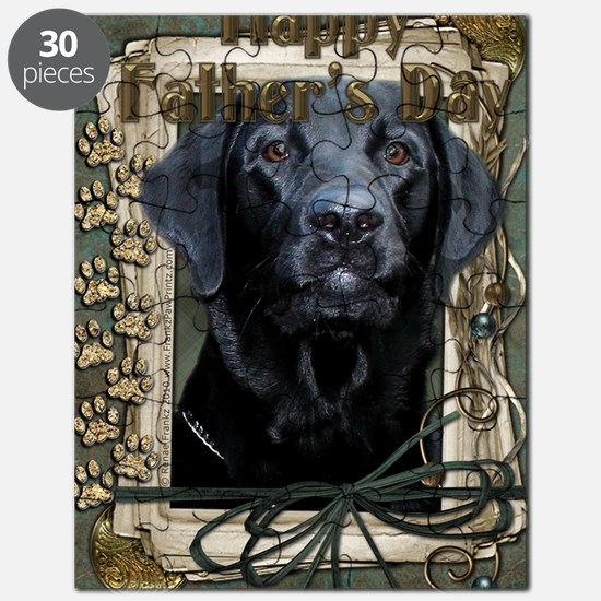 French_Quarters_Black_Labrador Puzzle