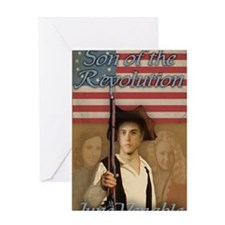 Son of the Revolution Greeting Card