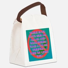 3-THERE IS NO SUCH GOD AS ALLAH A Canvas Lunch Bag