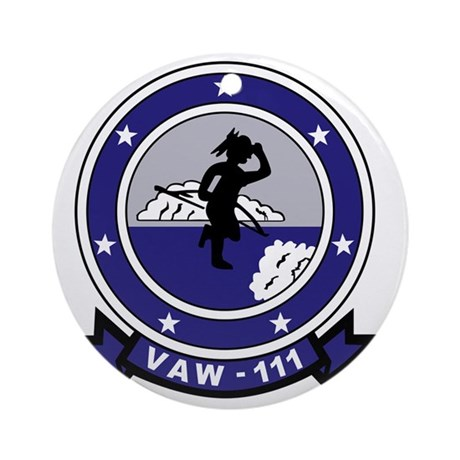 vaw111 Round Ornament