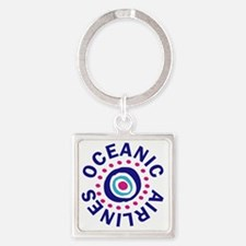 oceanicairlinesround Square Keychain