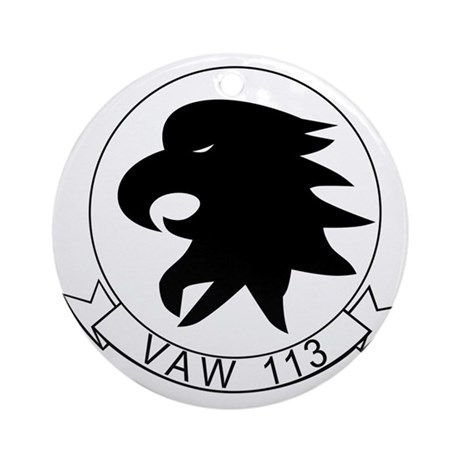 vaw113 Round Ornament